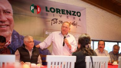 Lorenzo Rivera se reúne con líderes en San Martín Texmelucan